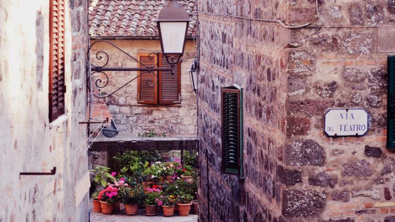 Montepulciano, Tuscany, Italy -Virginie Suys Photo CanvasHD