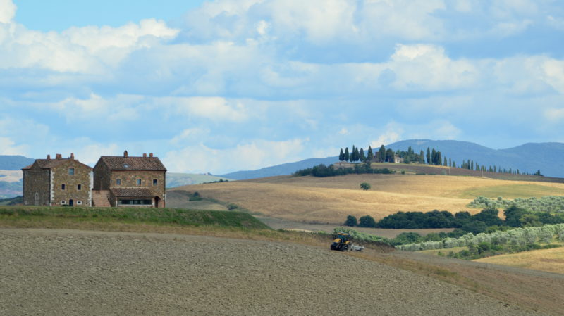 House in Tuscany 3, Italy - Virginie Suys Photo Canvas HD