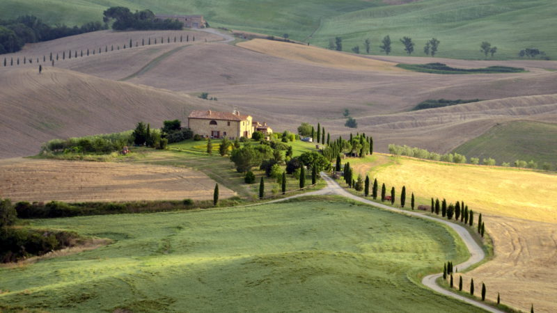 House in Tuscany 2, Italy - Virginie Suys Photo Canvas HD