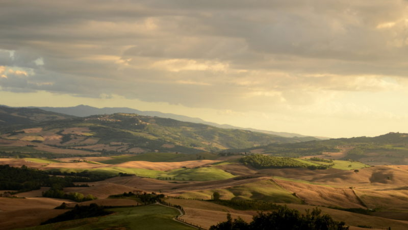 Hills of Tuscany, Italy - Virginie Suys Photo Canvas HD