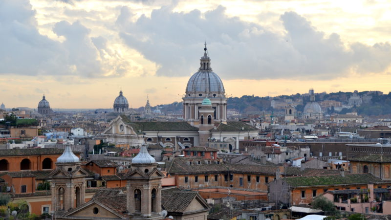 Rome Skyline, Italy - Virginie Suys Photo Canvas HD