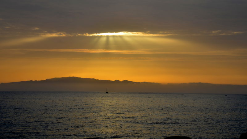 Atlantic Ocean sailboat, Tenerife, Spain - Virginie Suys Photo Canvas HD