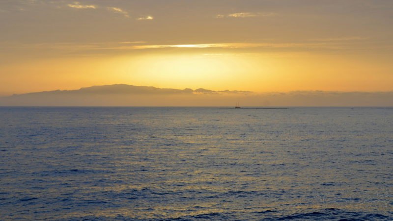 Atlantic ocean sunset, Tenerife, Spain - Virginie Suys Photo Canvas HD