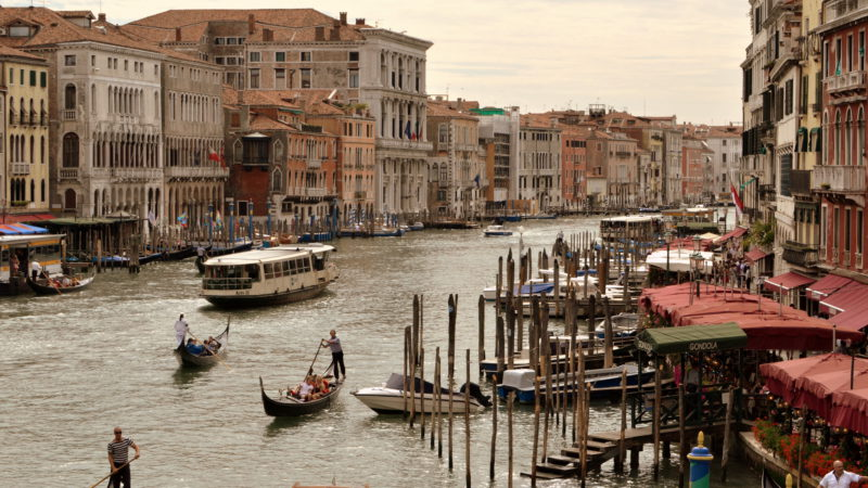 Venice Grand Canal, Italy - Virginie Suys Photo Canvas HD
