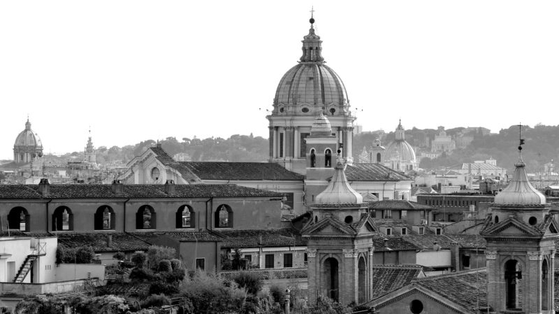 Rome black & white, Italy - Virginie Suys Photo Canvas HD