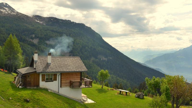 Green mountain landscape, Switzerland - Virginie Suys Photo Canvas HD